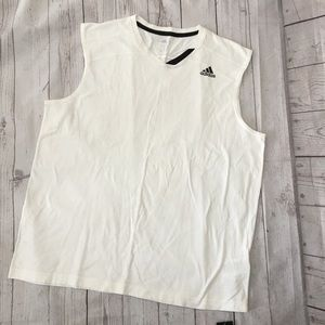 NWT ADIDAS White Crazy Ghost Basketball Tank Top